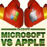 FaceOFF Microsoft vs Apple Thumbnail