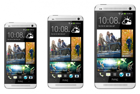 HTC One mini vs One vs One Max