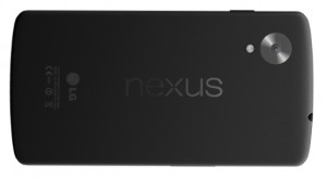 Nexus 5 achterkant