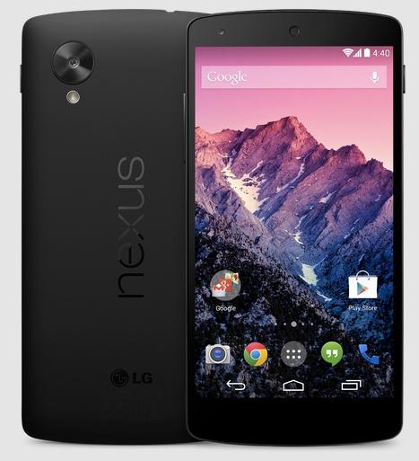 Nexus 5 zwart