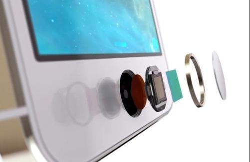 Vingerafdruk scanner iPad 5 en iPad mini 2