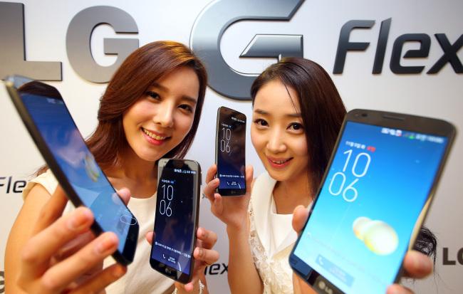 LG G Flex week 46 in Zuid Korea!