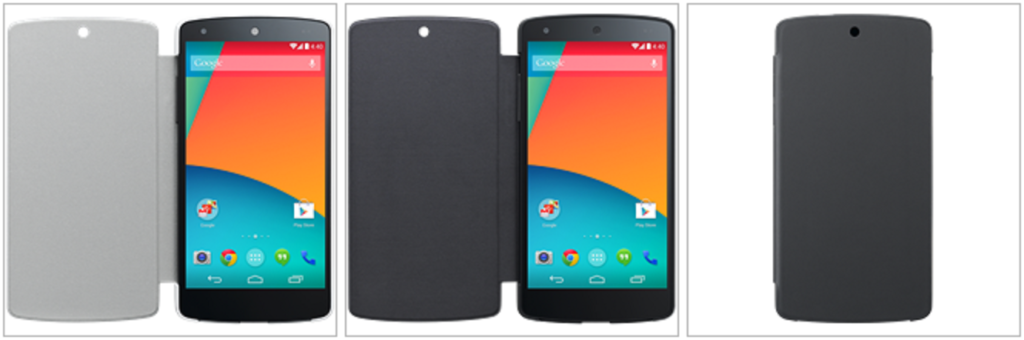Nexus 5 Flip Cover