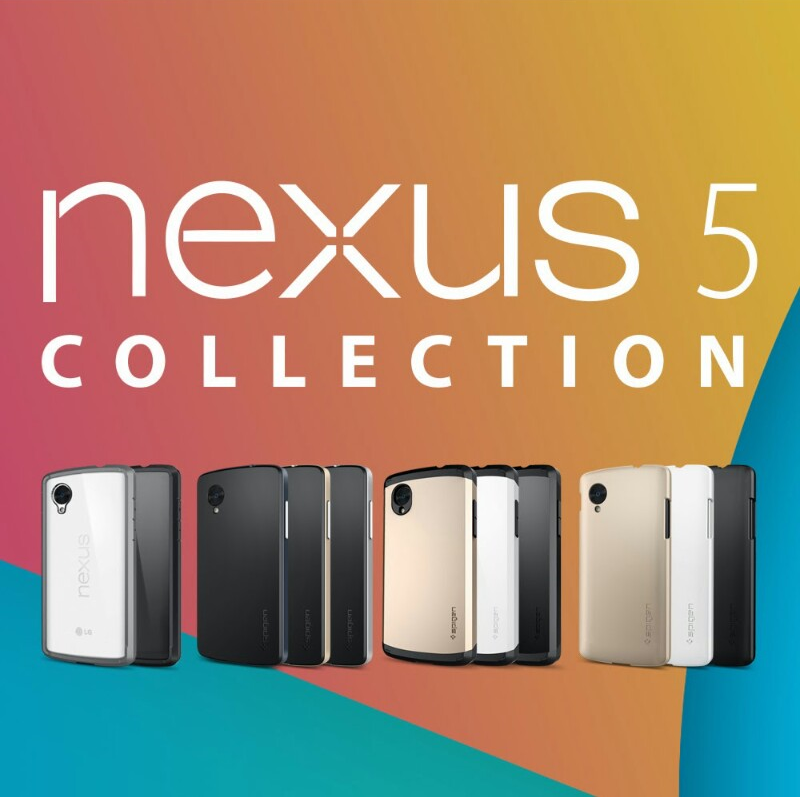 Nexus 5 cases by Spigen