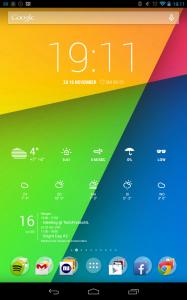 Google Experience Launcher on Nexus 7