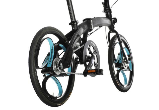 Loopwheels in fiets