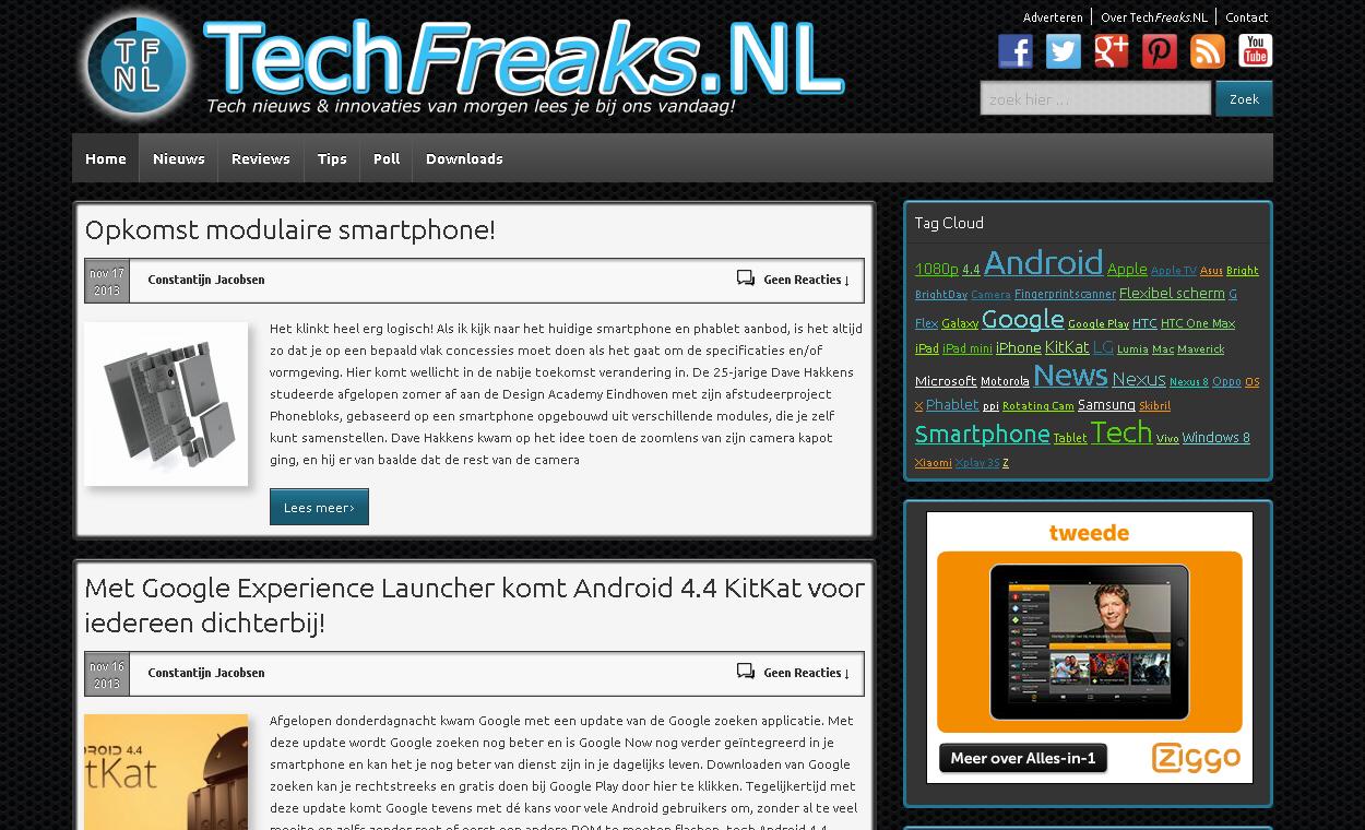 TechFreaks.NL Nieuw