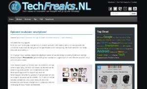 TechFreaks.NL in oude look and feel