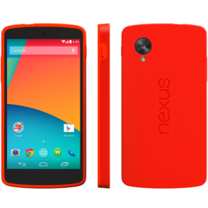 Nexus 5 Bumper Case rood