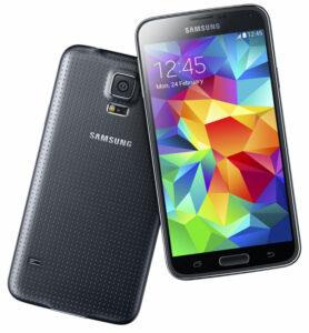 Galaxy S5 voor- en achterkant