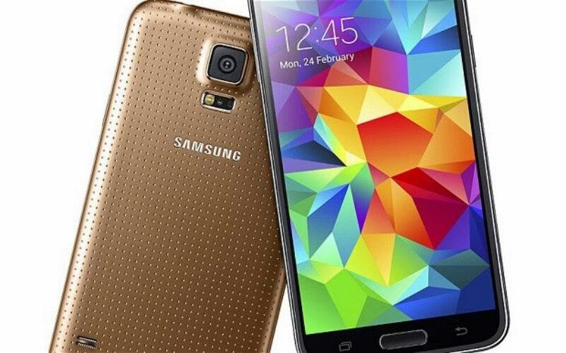 Samsung Galaxy S5 goud