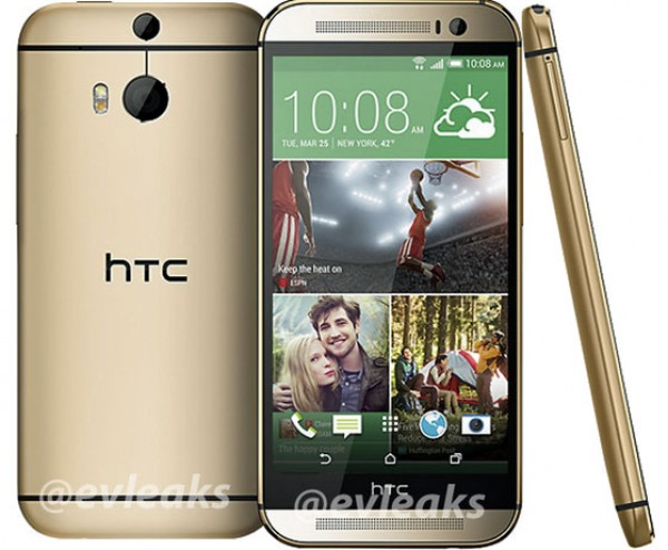 Nieuwe HTC One (M8) Goud