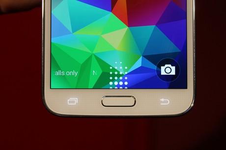 Samsung Galaxy S5 vingerafdrukscanner