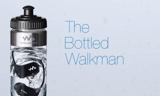 Sony Walkman waterfles