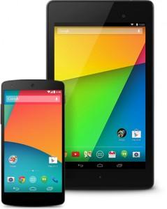 Nexus 5 en 7