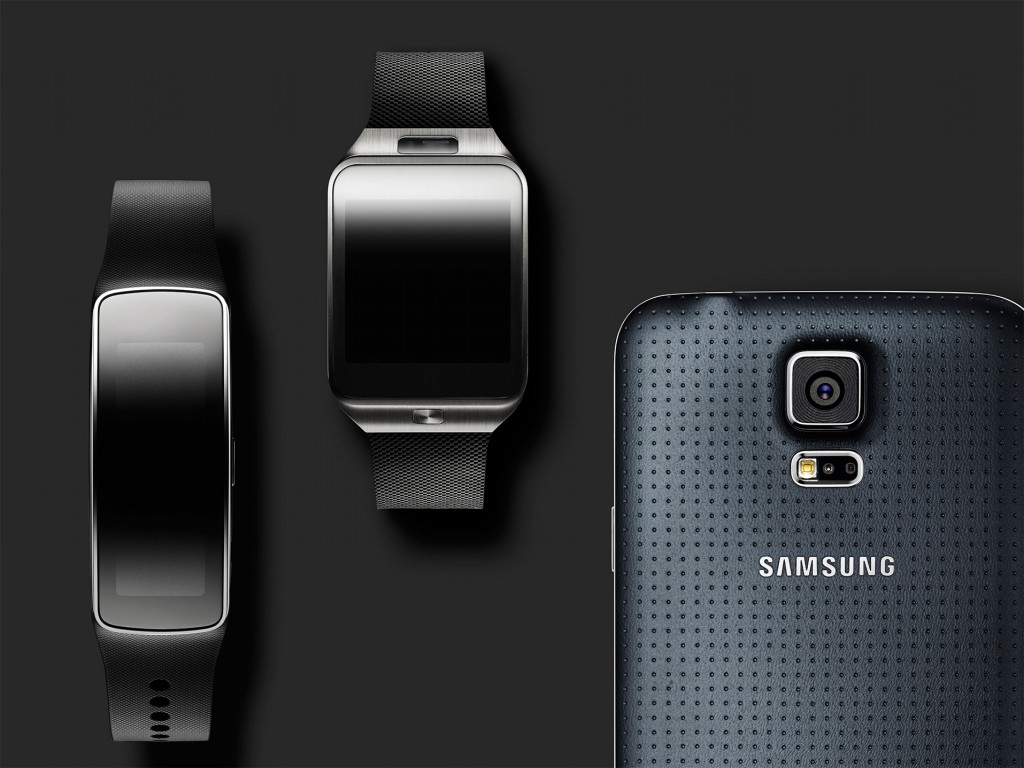 Glam Gear Fit, Gear 2 & Galaxy S5 Zwart