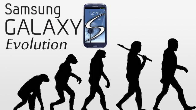 Galaxy S Evolutie