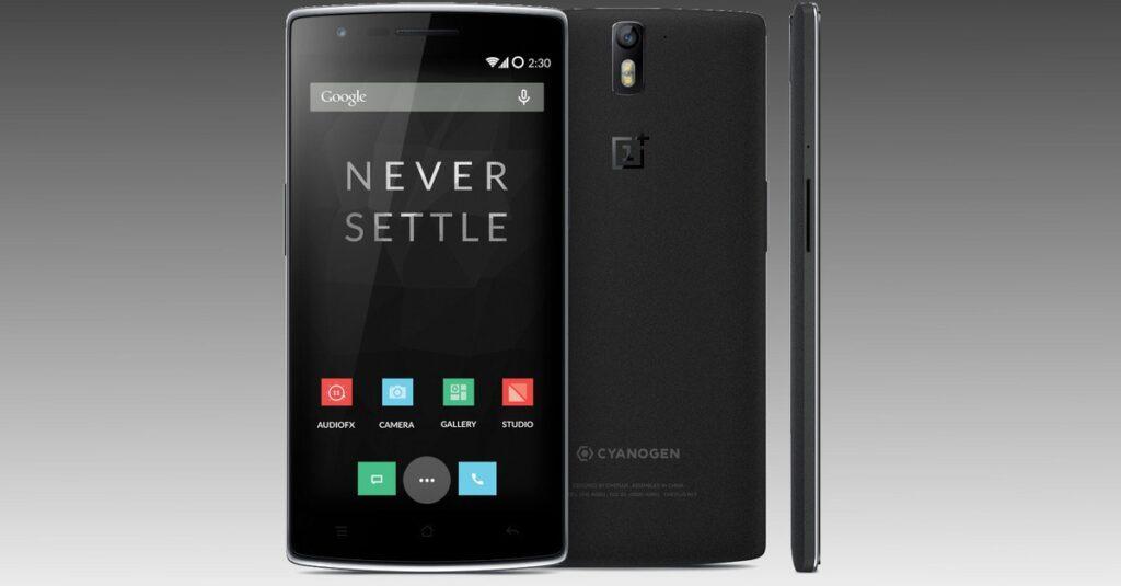 OnePlus-One Sandstone black